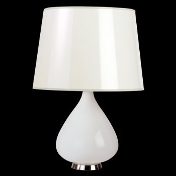 Capri 2 Table Lamp (White) - OPEN BOX RETURN