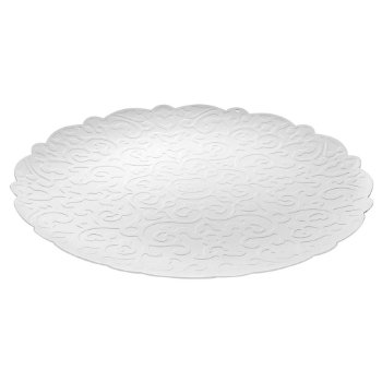 Dressed Round Tray by Alessi (White) - OPEN BOX RETURN