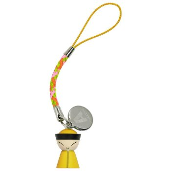 Mr. Chin Cell Phone Charm (Yellow) - OPEN BOX RETURN