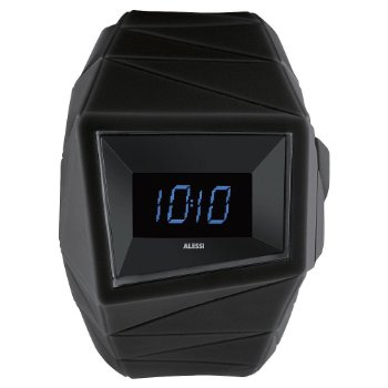 Daytimer Watch by Alessi (Black) - OPEN BOX RETURN