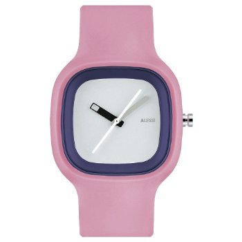 KAJ Watch by Alessi (Pink with White) - OPEN BOX RETURN