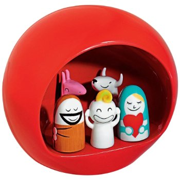 Presepe Group Figurines by Alessi (Red) - OPEN BOX RETURN