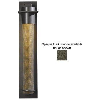 Airis Outdoor Wall Sconce (Opaque Dark Smoke/Medium/Mesh Tube) - OPEN BOX RETURN