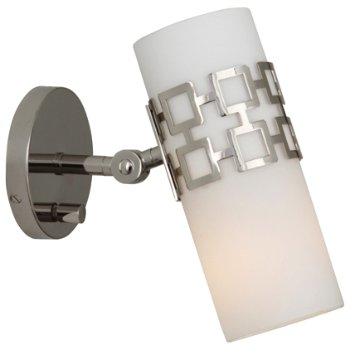 Parker Adjustable Wall Sconce (Polished Nickel) - OPEN BOX