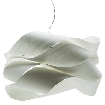 Link Suspension Ivory White E26 Base Large OPEN BOX By LZF At