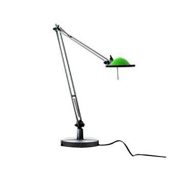 Berenice Small Table Task Lamp (Grn/Alum) - OPEN BOX RETURN