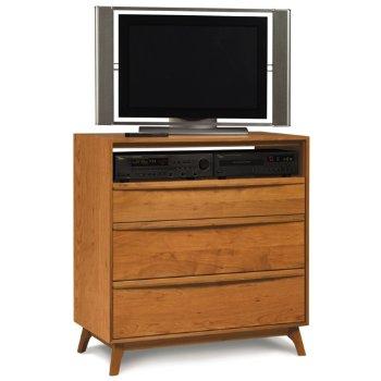 Catalina 3 Drawer Dresser and TV Organizer
