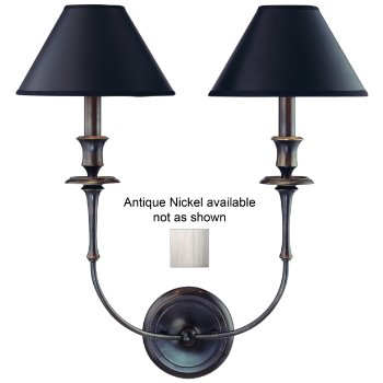 Jasper 2-Light Wall Sconce (Ant Nick) - OPEN BOX RETURN