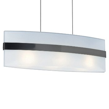 Nienke Linear Suspension (Matte Chrome) - OPEN BOX RETURN
