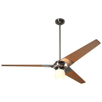 Torsion Ceiling Fan with Energy Efficient Light Kit