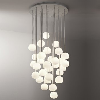 Lumi-Mochi Round Multi-Light Pendant