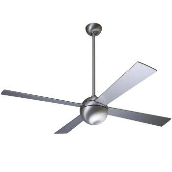 "Ball Ceiling Fan (Br Al/52""/Al/001) - OPEN BOX RETURN"
