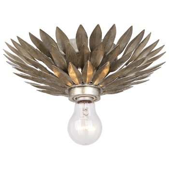 Broche 1 Light Wall Sconce/Flushmount