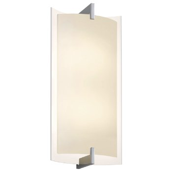 Double Arc LED Tall Wall Sconce