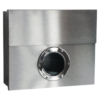 Letterman XXL Mailbox (Stainless Steel) - OPEN BOX RETURN