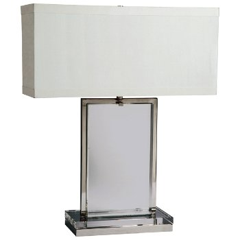 Crystal Slab Table Lamp