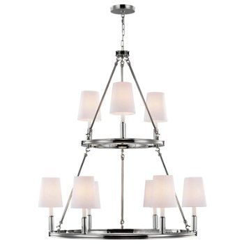 Lismore 2-Tier Chandelier