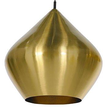 Beat Light Brass Pendant - Stout