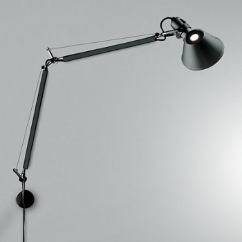 Tolomeo Classic Wall Lamp (S Bracket/Black) - OPEN BOX