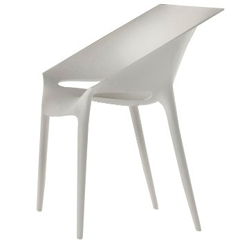 Dr. Yes Chair (White) - OPEN BOX RETURN