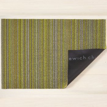 Skinny Stripe Shag Runner (Citron) - OPEN BOX RETURN