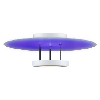 Chromaglo Spectrum LED Round Reflector Semi-Flushmount