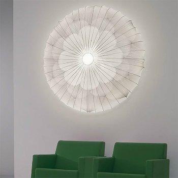 Muse Flower Fluorescent Wall/Ceiling Light