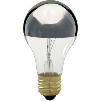 60W 120V A19 E26 Silver Crown Bulb