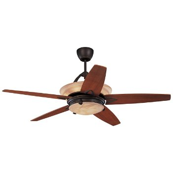 Arch Ceiling Fan with Light