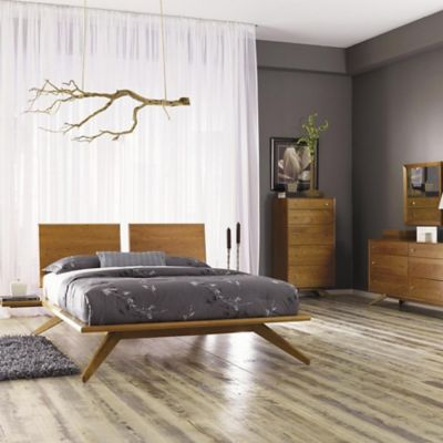 Modern bedroom furniture beds dressers nightstands at - Midcentury modern bedroom furniture ...