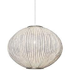 Coral Sea Urchin Pendant Light