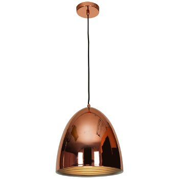 Shown in Shiny Copper finish, Large size