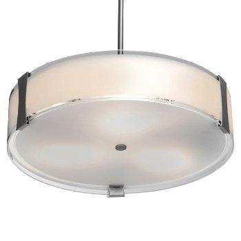Tara LED Convertible Semi-Flushmount/Pendant