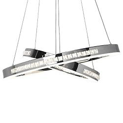 Affluence LED Dual Ring Pendant