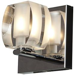 Evia Bath Wall Sconce (Chrome) - OPEN BOX RETURN
