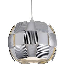 Layers LED Pendant (Chrome/White/Small) - OPEN BOX RETURN