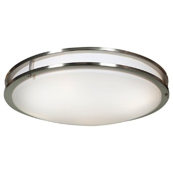 Shown in Brushed Steel finish, 24 Inch