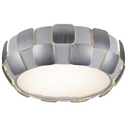Layers LED Flushmount (Chrome with White/Medium) - OPEN BOX