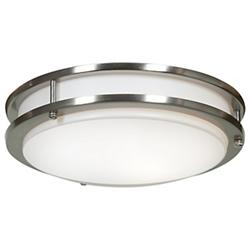 Solero Dimmable LED Flush Mount (Steel/12 In/LED) - OPEN BOX