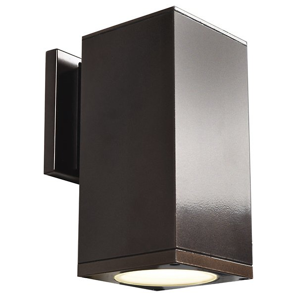 Bayside LED Outdoor Square Cylinder Wall Sconce