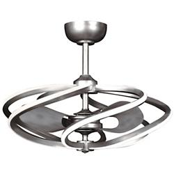 Vortex LED Pendant with Fan