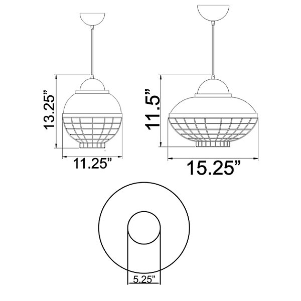 Dive LED Pendant