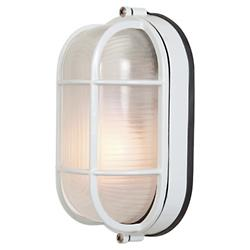 Nauticus Oval Wall Sconce (White/Large) - OPEN BOX RETURN