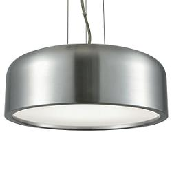 Kore LED Brushed Aluminum Pendant
