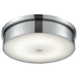 Towne Chrome Flushmount (15 inch) - OPEN BOX RETURN
