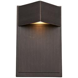 Fontana LED Triangle Outdoor Wall Sconce