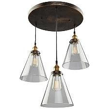 Greenwich Cone Multi Light Pendant