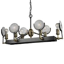 Baker Street Linear Chandelier Light
