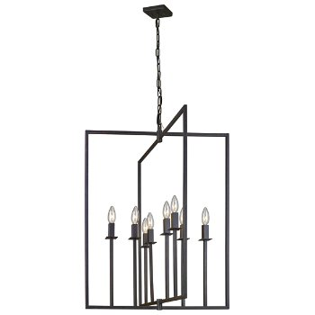 Shown in Oil Rubbed Bronze finish, Large size