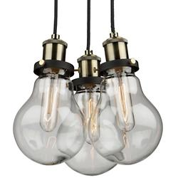 Edison Multi Light Pendant (3 Lights) - OPEN BOX RETURN